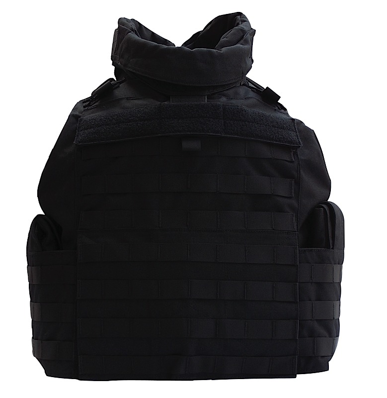Tacprogear V-CMTV1 Commercial Tactical Vest Medium Nylon Black
