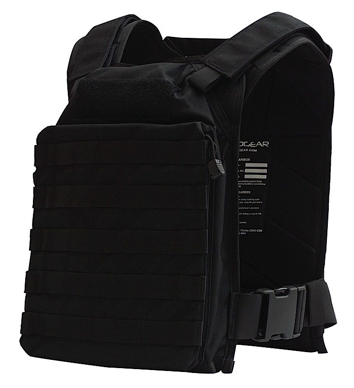 Tacprogear V-RAPC1 Rapid Assault Plate Carrier Nylon Black One Size