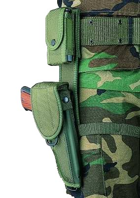 Bianchi 15140 Tactical Hip Extender M1425 Fits 2.25