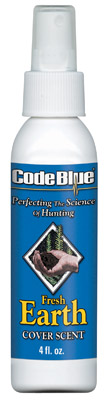 Code Blue OA1109 Earth Cover Scent Human Odor Eliminating 4 oz
