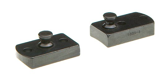 B-Square 1856 Lynx 2-Piece Stud Base For Browning A-Bolt Stainless Steel Finish