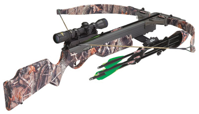 Excaliber 6720 Phoenix Crossbow/Scope Package 2-4x Scope Realtree Hdwood Grn HD