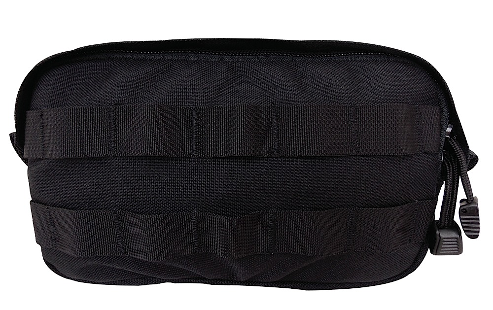 Tacprogear PSMGP1 General Purpose Pouch Small Zippered Nylon Black